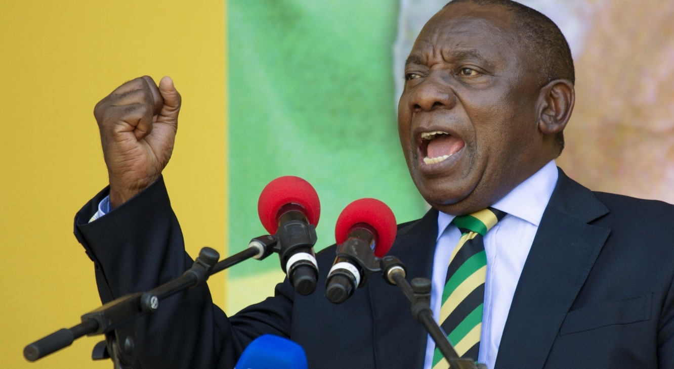 Ramaphosa: The time for leaders to enrich themselves and their families must come to an end