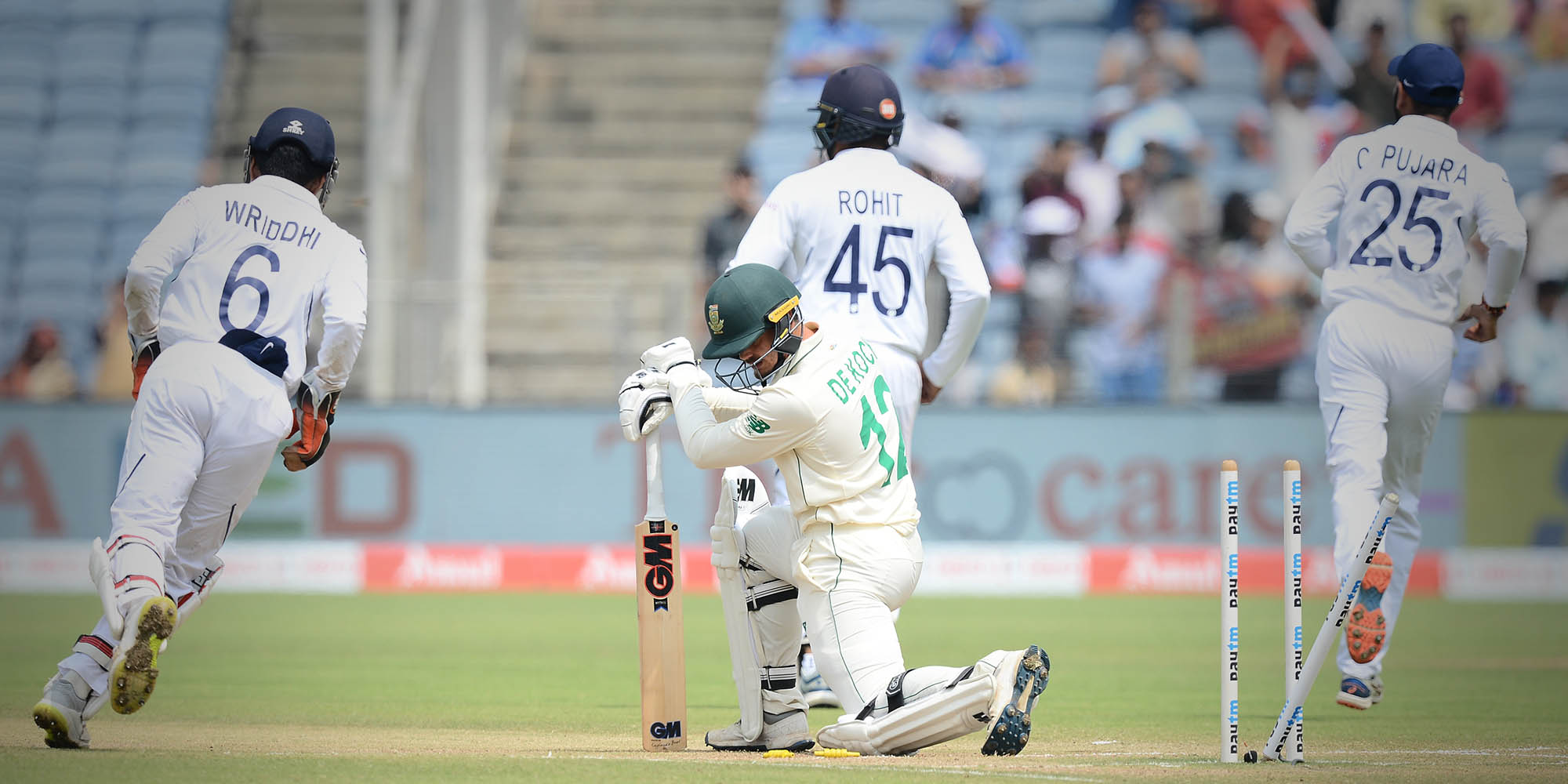 India claim series win as Proteas crumble in Pune
