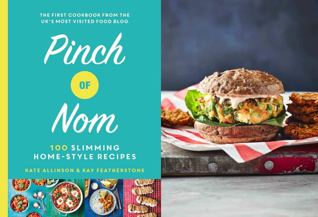 Maverick Life Exclusive: Try these Veggie Burgers from 2019's must-have recipe book Pinch of Nom