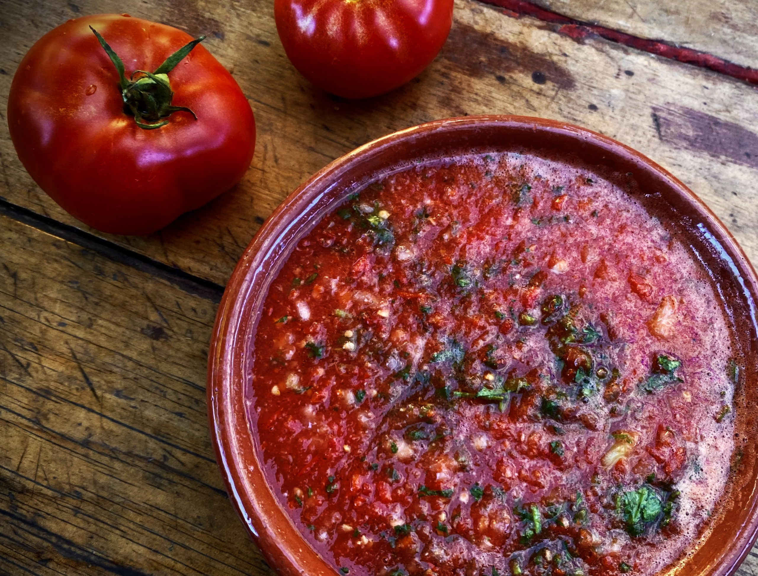 TGIFOOD: What's cooking today: Mexican salsa roja