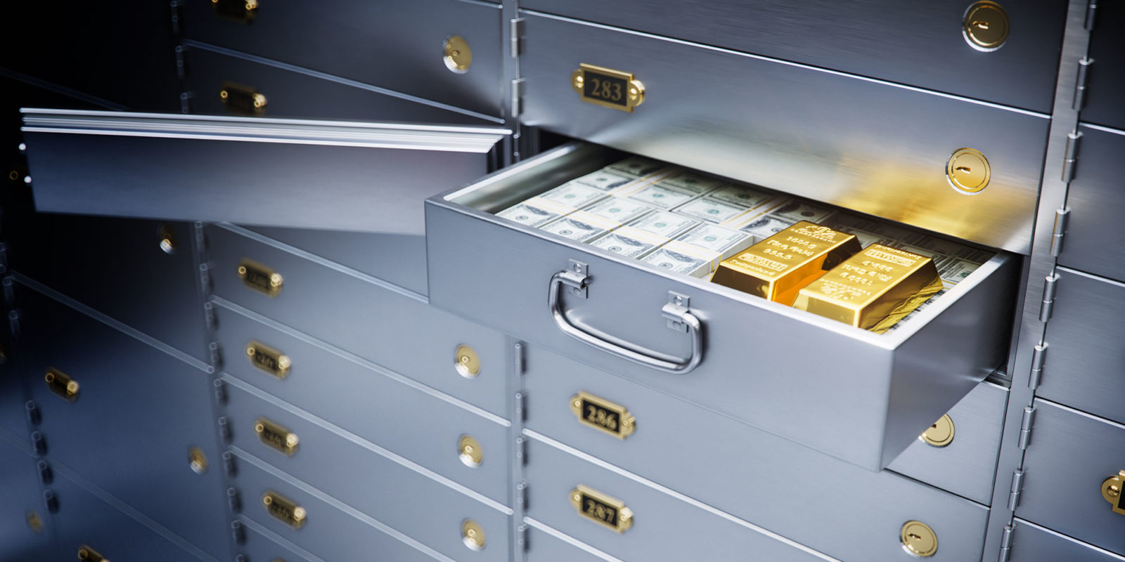 Out with the secure solution — banks phasing out safe...