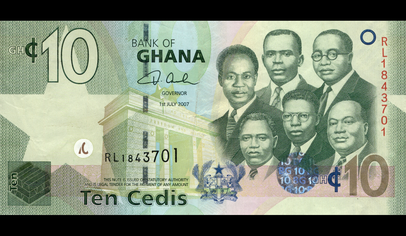can the imf save ghana s currency daily maverick