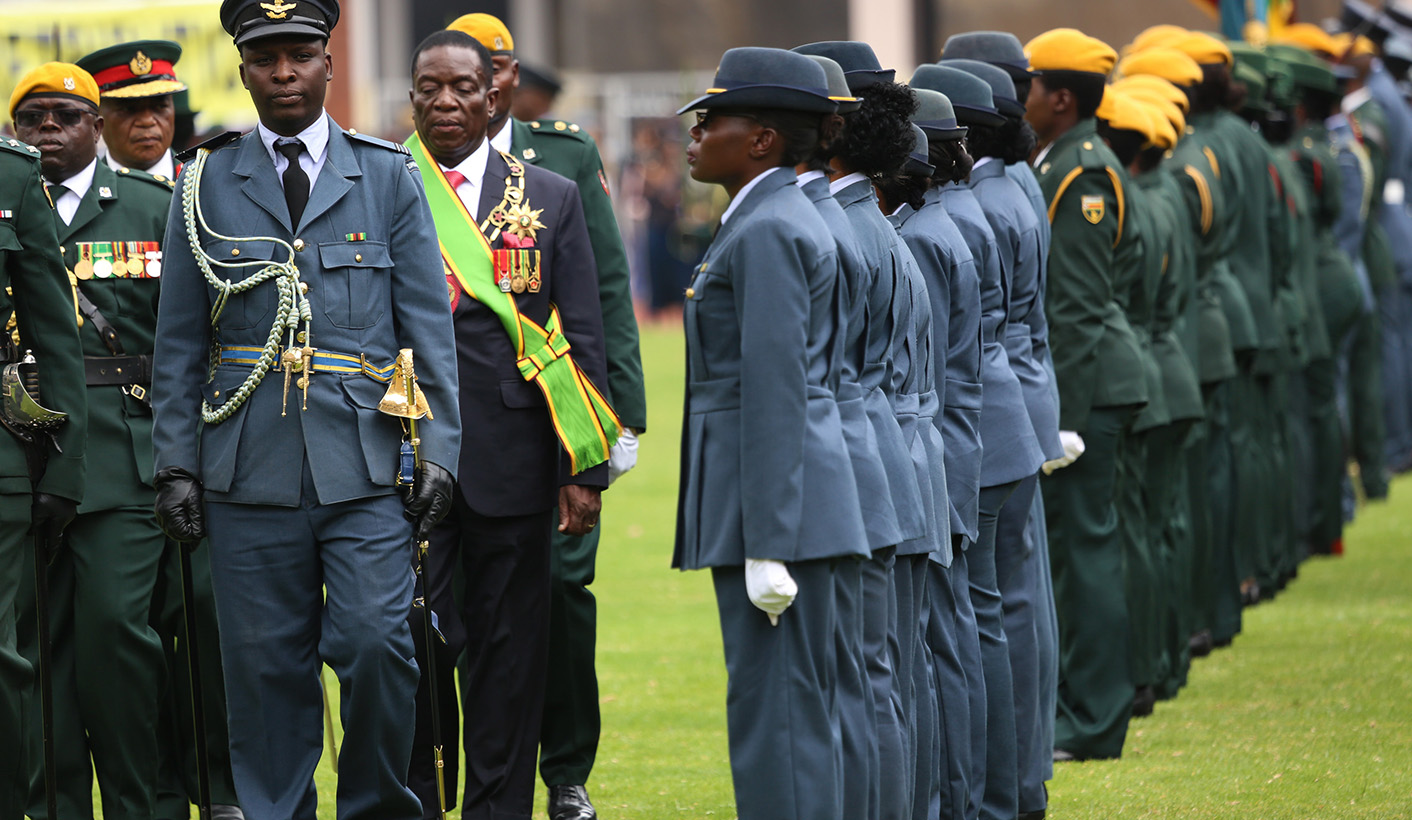 Bildergebnis für mnangagwa army