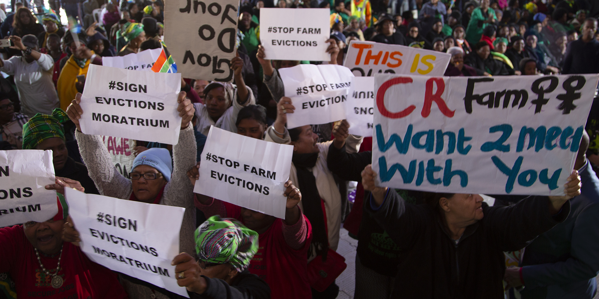 THE PROMISED LAND: Women on Farms Project calls for moratorium on farm evictions