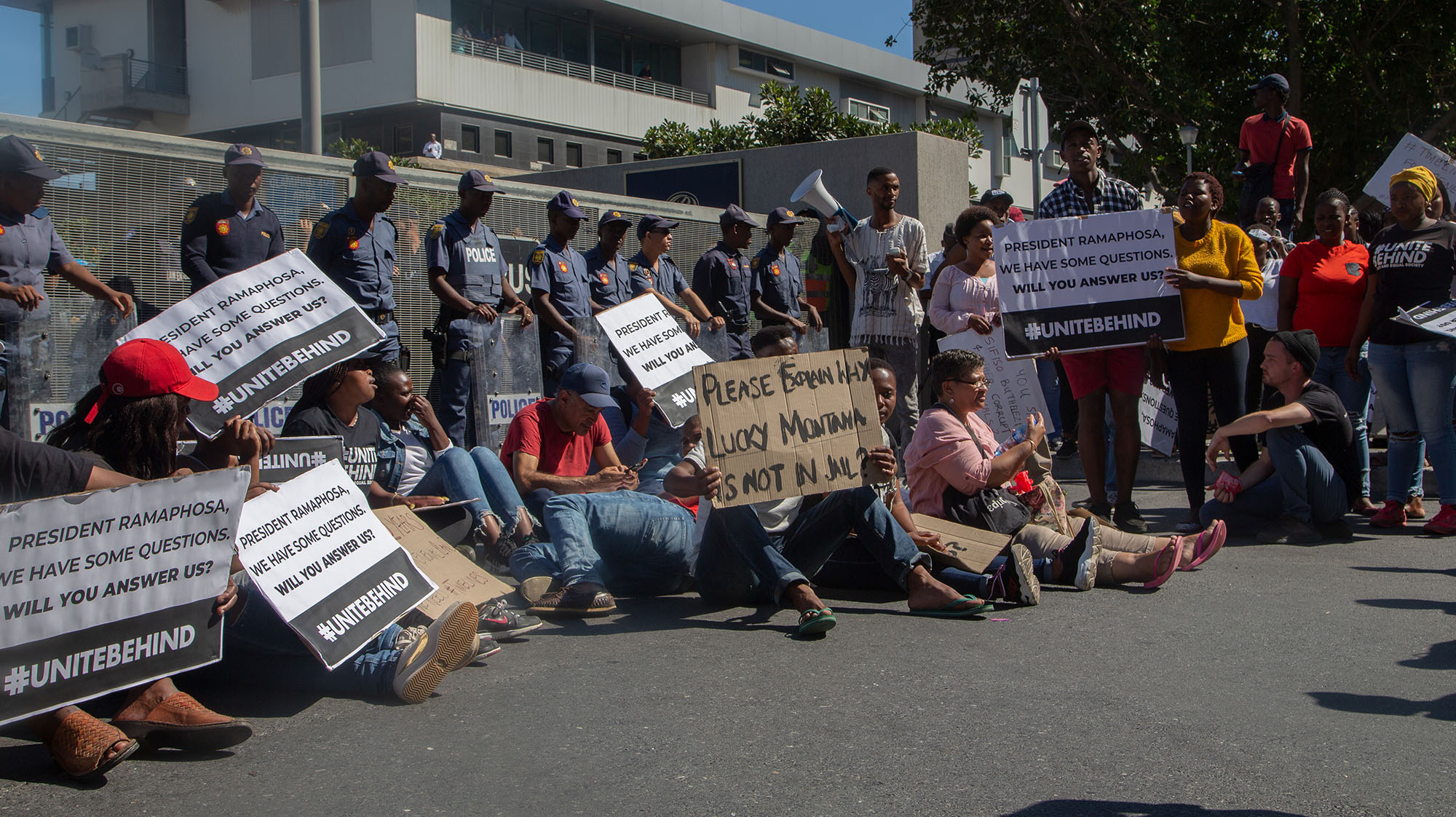 Derailed again: Cape Town protesters disrupt Cyril's