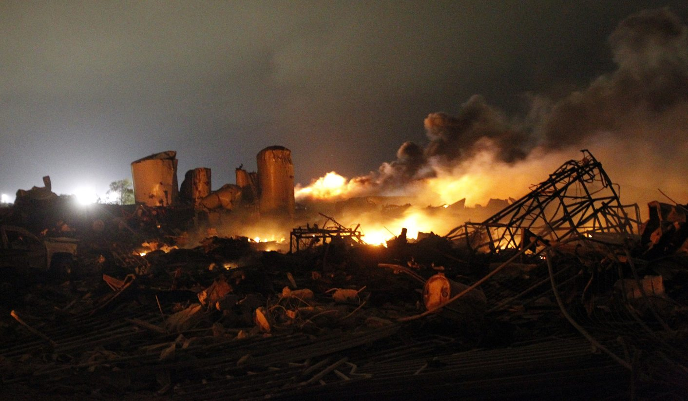 Rescuers search for survivors of Texas fertilizer plant